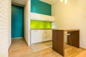 Küche in der ersten Wohnung