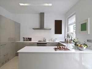 moderne, gestylte Einbauküche - es geht aber auch anders...